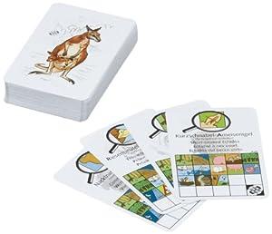 Adlung Spiele 46129 Manimals Australien - Juego de cartas sobre animales de Australia (cartas en varios idiomas)