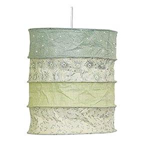 Papierlampenschirm Skagen pastel mint - HANDMADE - Pendelleuchte - Deckenleuchte Papier - Lampenschirm