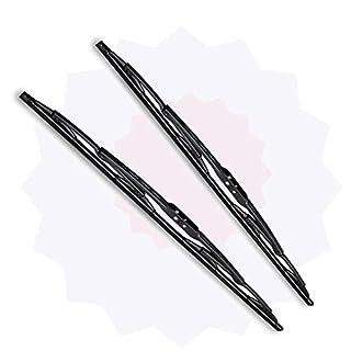 Online Automotive WBDASAN09 1001A Front Standard Windscreen Wiper Blades, Set of 2