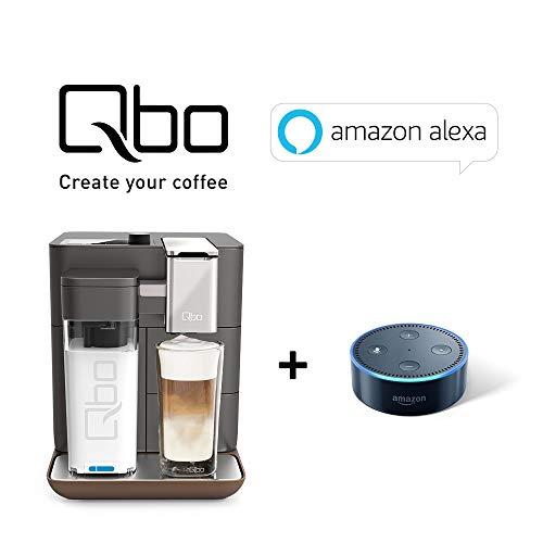 Tchibo Qbo You-Rista + Amazon Echo Dot im Set - Kaffee Kapselmaschine inkl. Echo Dot und...