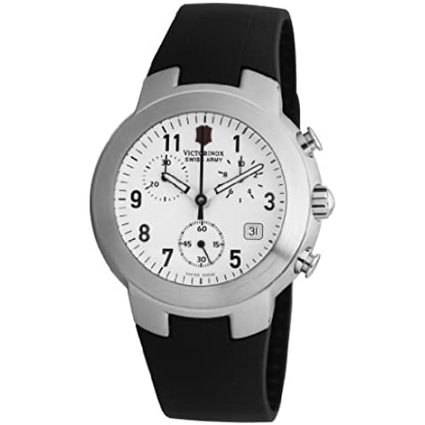 Victorinox Maverick Chrono V.25525 - Reloj cronógrafo de cuarzo para hombre, correa de goma color negro