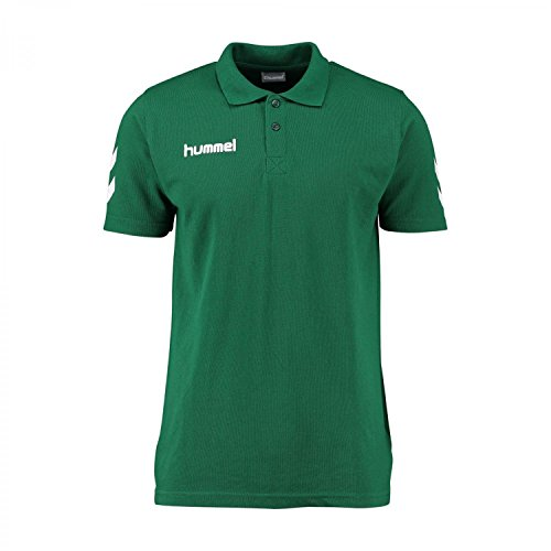 Hummel-Polo CORE, Unisex, Polo Core, Verde - Evergreen, XXXL