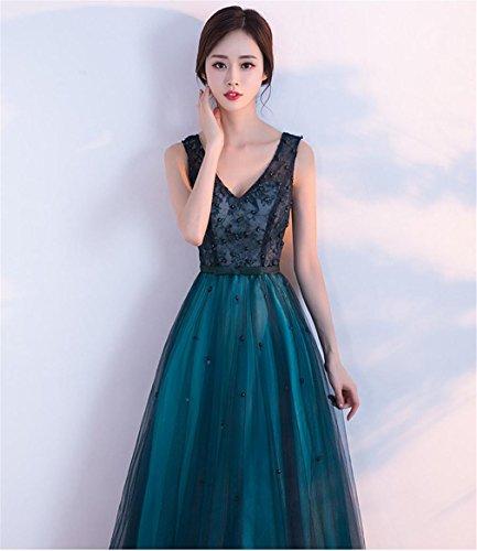 1769b9456e1 LUCKY-U Vestido de Mujer Largo Vestido de Fiesta Boda Citas Fiesta Paseo  Cóctel Noche Fuera Vestir Decoración de Banquetes
