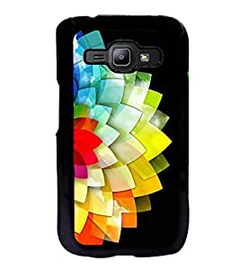 FUSON Creative Colorful Abstract Design Designer Back Case Cover for Samsung Galaxy J2 J200G (2015) :: Samsung Galaxy J2 Duos (2015) :: Samsung Galaxy J2 J200F J200Y J200H J200Gu