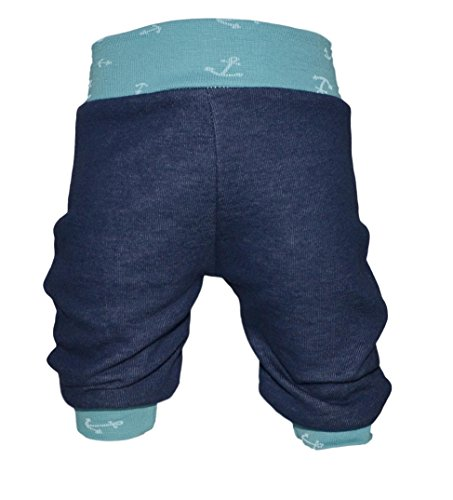 9fb08795ee Pumphose,Babyhose,Kinderhose Jeans-Jersey Anker grün (74/80)
