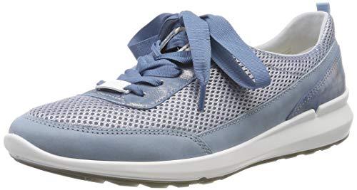 ARA Damen Frisco 1215614 Sneaker, Blau (Sky 09), 42 EU