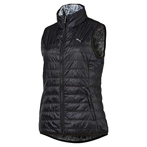 Puma Damen 573285 Pwr Warm Reversible Vest, X-Small Jacke, Black-Quarry, xs Puma Reversible Vest
