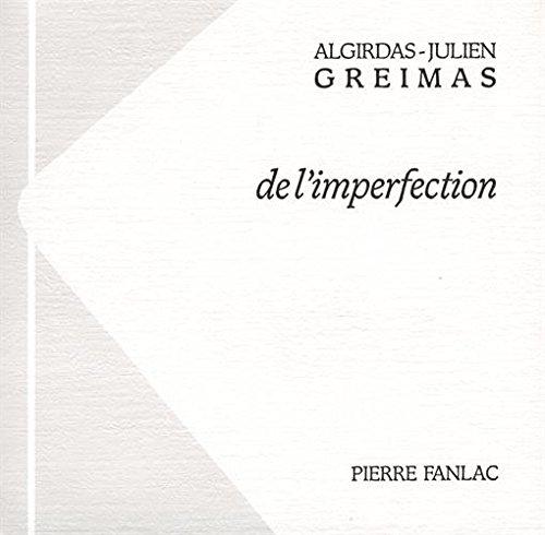 De l'imperfection par (Broché - Oct 10, 2003)