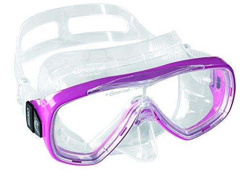 Cressi Taucherbrille Erwachsene, Herren und Damen - Tauchermaske, Made in Italy, rosa, DN207040 (Brille Schwimmen Mask)