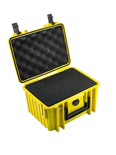 B&W Outdoor Cases Typ 2000 SI (Schaumstoffeinsatz) gelb