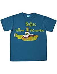 The Beatles - Vintage Yellow Submarine Easyfit T-shirt - bleu pétrole - Design original sous licence - LOGOSHIRT