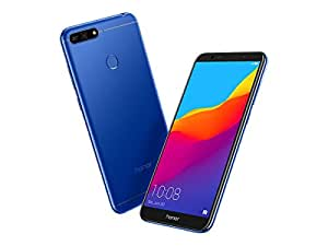 """Honor 7A Dual SIM 4G 16GB Blue - Smartphones (14.5 cm (5.7""""), 16 GB, 13 MP, Android, Android 8.0 with EMUI 8.0, Blue)"""