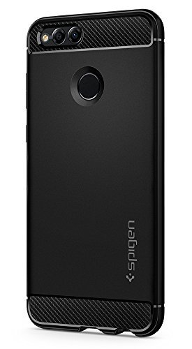 brand new ca7a7 bbfc6 Spigen Rugged Armor Case for Huawei Honor 7X/Huawei Mate SE - Black  L20CS22666