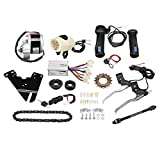 NAKS Automation 24v 250watt Motor ebicycle Full kit / Electric Bicycle Conversation kit