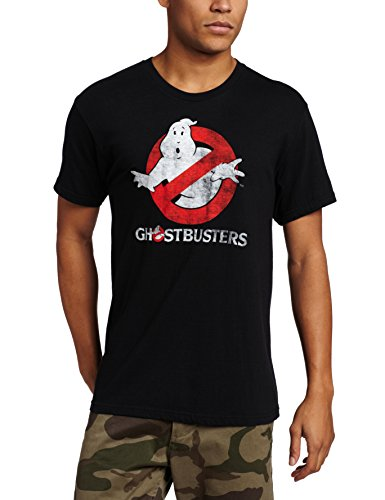 Ghostbusters Men's Distressed 80s Logo T-shirt - S to XXL