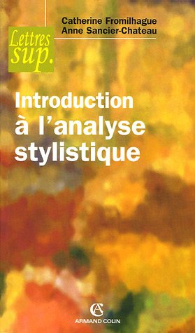 Introduction  l'analyse stylistique