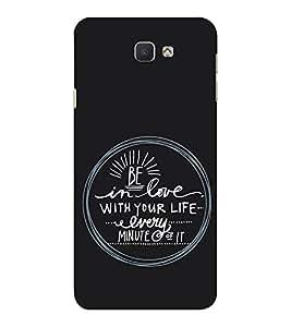 EPICCASE Be in Love Mobile Back Case Cover For Samsung Galaxy J7 Prime (Designer Case)