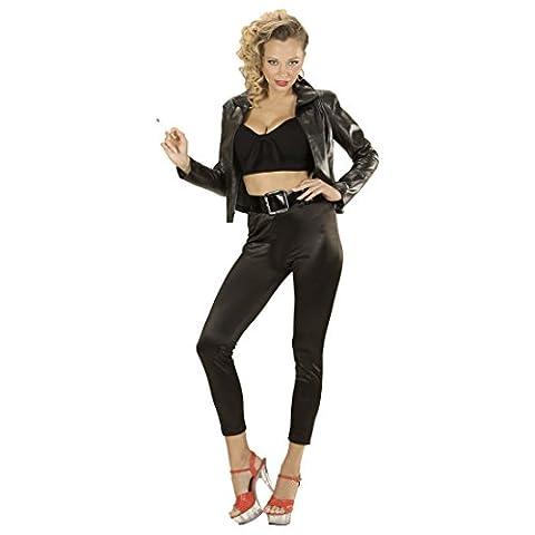 Rockabilly Damenkostüm 50er Jahre Kostüm Damen M 38/40 Rock n Roll Outfit Grease T-Birds Jacke 50s Mode Verkleidung Grease Jacket