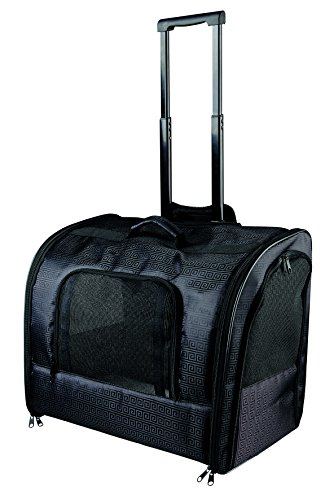 Trixie Nylon Trolley Eleganza, 45 x 41 x 31 cm, Colore: Nero