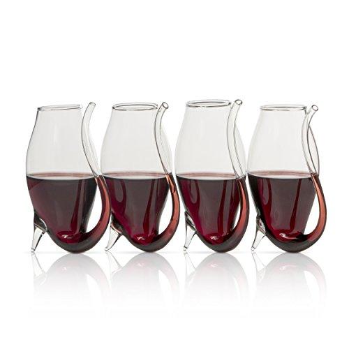 Elegante Port Portwein-Die Wein genießen Savant Port Sipper Gläser 4er Set - Port Sippers