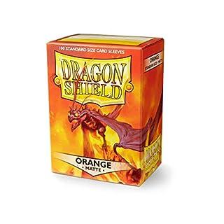 Arcane Tinmen ApS ART11113 Dragon Shield Japanese Card Game, Matte Orange (60 cards)