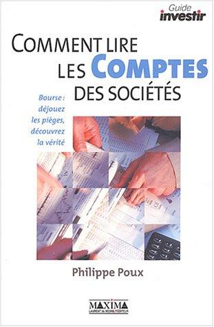 Comment lire les comptes des sociétés