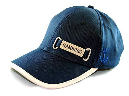 City Souvenir Shop Basecap Hamburg Baseball-Kappe, blau