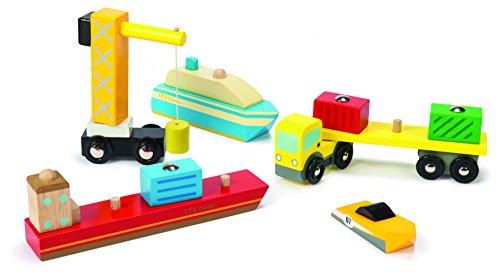 Le Toy Van TV381 Hafen Set -