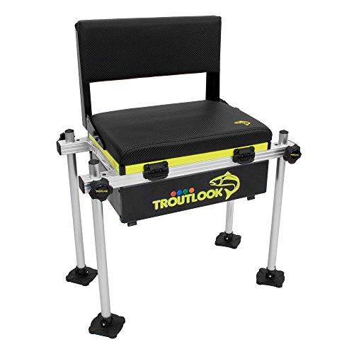 TroutlookForellensee Sitzkiepe mit Rückenlehne