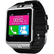 Bingo T30 Silver Bluetooth Notification Smartwatch With USB LED
