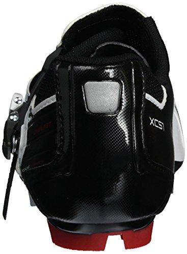 Shimano Erwachsene MTB Schuhe SPD SH XC 51 Weiß/Schwarz