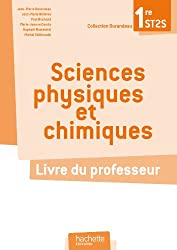 Sciences physiques et chimiques ST2S - Livre professeur - Ed. 2012