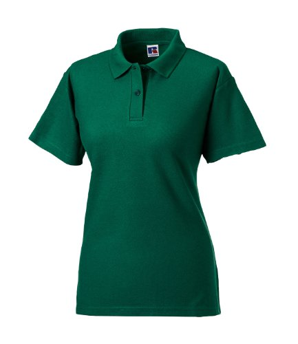Russell Athletic - Polo -  Femme Vert - Vert bouteille