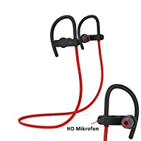 Spigen Legato Sport R53E Kablosuz Bluetooth 4.1 Mikrofonlu Kulaklık/Suya Dayanıklı - Red