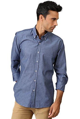 Dewberry -  Camicia Casual  - Uomo Blue