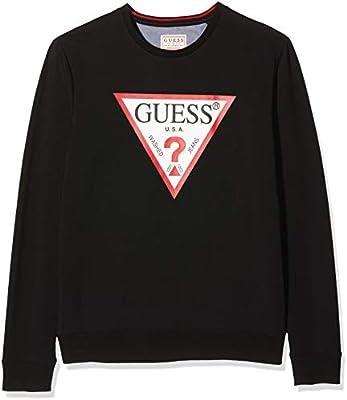 Guess Vin Cn Fleece Jersey, , Large para Hombre