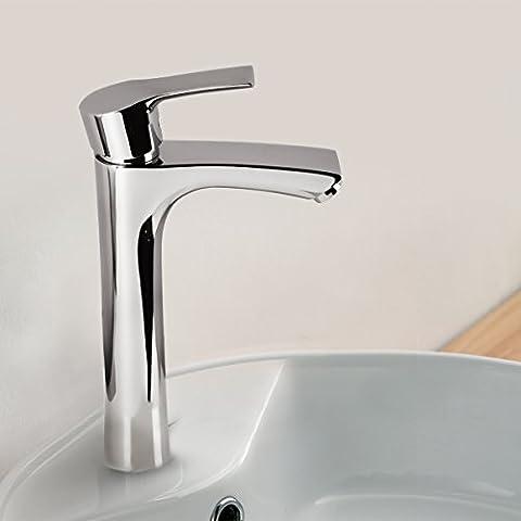 Cu todos los parapetos, lavabo, ducha fría y caliente de lujo cuenca del grifo ,800527-A