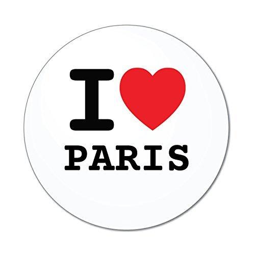 Preisvergleich Produktbild JOllify Aufkleber - PARIS – Farbe: Design: I love - Ich liebe