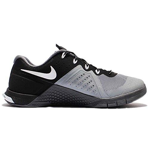 Nike  Wmns Metcon 2, Sneakers femme Stealth/White-Black-Dark Grey