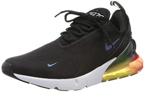 Nike Herren Air Max 270 Se Leichtathletikschuhe, Mehrfarbig Black/Laser Orange/Ember Glow 003, 45 EU