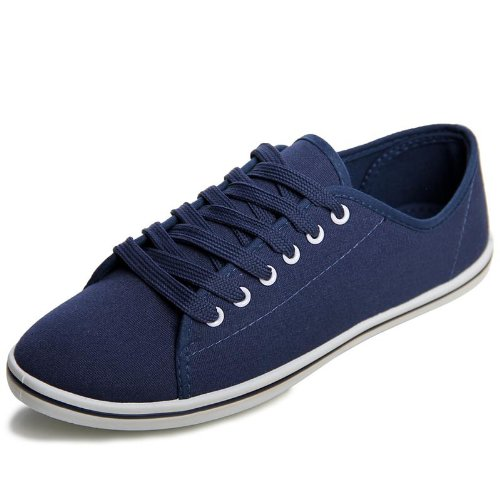 topschuhe24 , Baskets pour femme Bleu - Bleu foncé