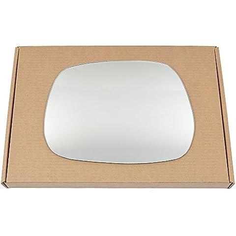 Derecho Lado del conductor ala de plata espejo de cristal para Toyota Corolla Verso 2001–2004