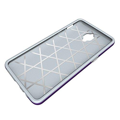 One Plus 3 Coque,EVERGREENBUYING Ultra Slim léger 2 en 1 OnePlus 3T Cases Housse Etui de protection Anti-dérapant hybride Cover pour OnePlus 3 Noir Violet