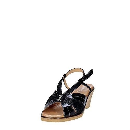 Cinzia Soft IO803-CV 001 Sandalo Donna Nero