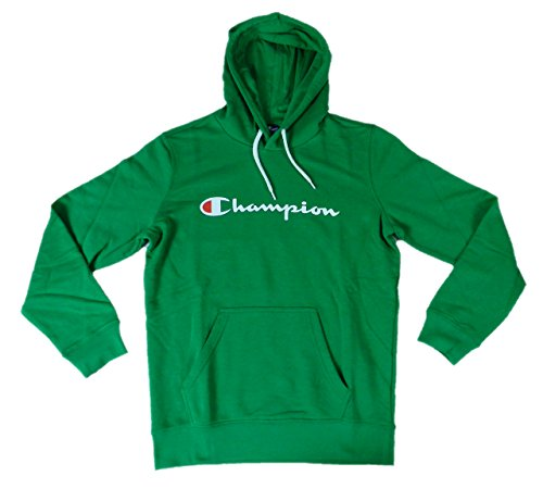 champion-hoody-209486-bleu-marine-xl-vert
