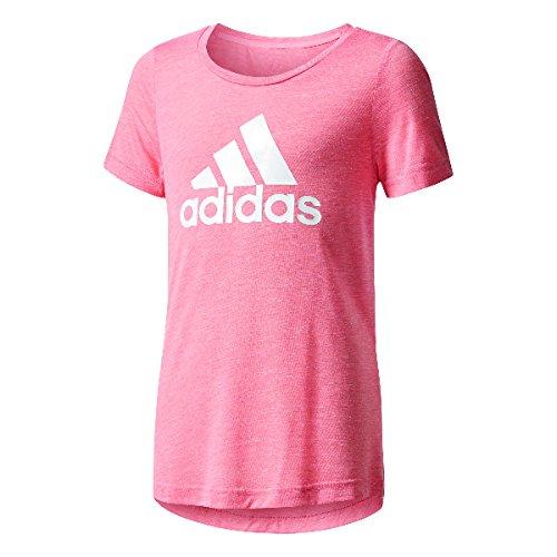 adidas Mädchen Id T-Shirt, Tacros/White, 152