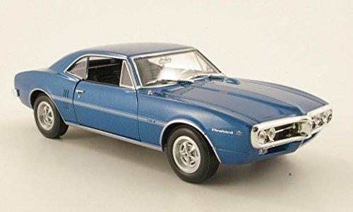 pontiac-firebird-metallizzato-blu-1967-modello-di-automobile-modello-prefabbricato-welly-124-modello
