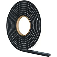 Stormguard 05SR0363.5MBL 3.5m Extra Thick Self-Adeshive Rubber Draught Excluder - Black