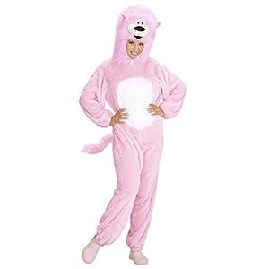 WIDMANN 97150Adulto Disfraz León, de color rosa, X LARGE
