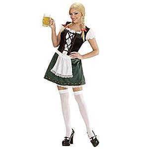 WIDMANN Muchacha de Las señoras del Traje de Baviera Medio UK 10-12 para Programas de Dibujos Animados y Cine Vestido
